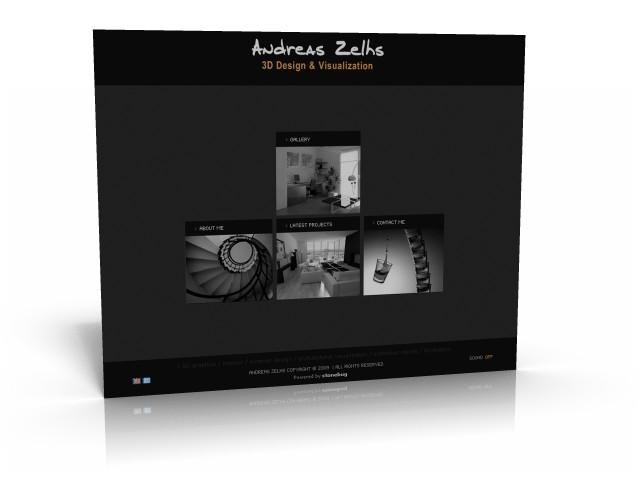 H Ιστοσελίδα του Αndrea Zelh
